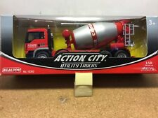 MAN Truck w/cement mixer 1:50 scale by REALTOY NEW VERY Rare