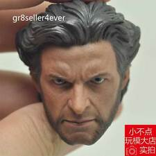 1/6 Custom made scale Head Sculpt Wolverine Hugh Jackman X-Men#US