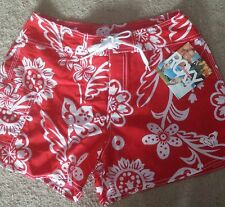 NEW Roxy Hibiscus Flower Board Shorts Quiksilver  Size 5 NWT