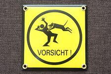 Möbel & Wohnen Schäferhund-emaille-schild-145 X 185 Mm-türschilder-hund-tiere-email-warnschild Hunde