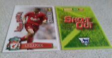 SHOOT OUT CARD 2003/04 (03/04) - Green Back - Liverpool - Milan Baros