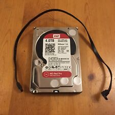 Western Digital Red Pro 4TB SATA 64MB Cache Hard Disk