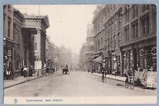 VINTAGEPOSTCARD - BIRMINGHAM NEW STREET  - TUCKS Town & City  RP - Unposted