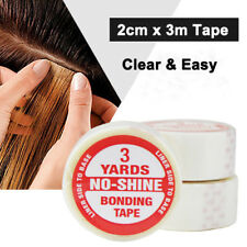 Hair tape for hair extension/lace wig/toupee and PU tape hair weft  *UK SELLER*