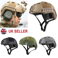 New Multifunction Military Tactical Protective ABS Fast Helmet Airsoft Paintball