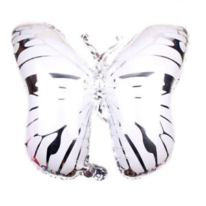 HOT Colourful Butterfly Shape Foil Ballon Wedding Birthday Party Bedroom Decor E
