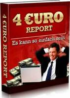 4 Euro Report eBook Geld verdienen Internet PLR-Lizenz Web Projekt Shop Domain