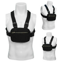 Men's Multipurpose Chest Bag Vest Chest Rig Bag Hip Hop Waistcoat Waterproof