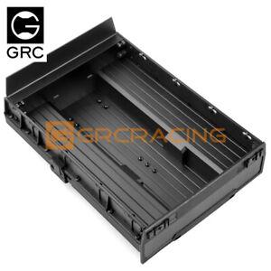 GRC Huntsman Truck Bed Rear Bucket Black For TRX-6 TRX6 6*6 Benz Crawler #G163DB