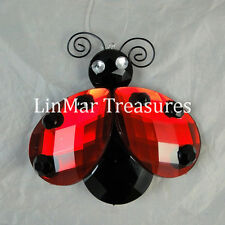 Ganz Crystal Expressions Ladybug Sun Catcher Ornament