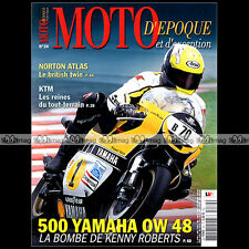 MOTO D'EPOQUE N°34 VILLA 250 V4 KIT BSA DBD GOLD STAR NORTON ATLAS YAMAHA OW 48