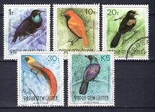 Papua New Guinea - 1993 Definitives birds - Mi. 672-76 VFU