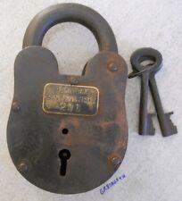 Alcatraz Lock prison San Francisco padlock
