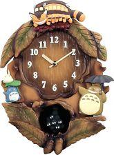Rhythm Wall Clock Neighbor Totoro Music Box Function Clock M837N 4MJ837MN06