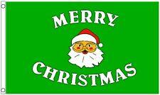 Merry Christmas Santa Claus 5'x3' Flag