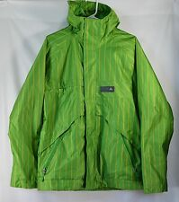 BURTON Poacher Dryride Sz S Ski Jacket Coat Green Snowboarding EUC