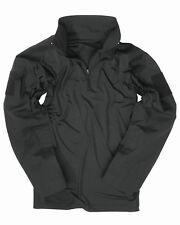 MIL-TEC  Feldhemd Tactical schwarz Combat Shirt Einsatzhemd Armee Paintball
