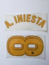 Barcelona iniesta infinity farewell 2018 name set sporting ID authentic home