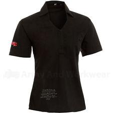 Waist Length Business Short Sleeve Tops & Shirts for Women