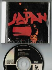 JAPAN Adolescent Sex JAPAN CD VDP-1153 w/BOOKLET 3,008JPY David Sylvian Free S&H