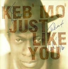 Keb Mo signed/autographed cd album- Just Like You