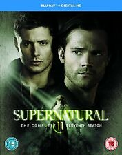 Supernatural . The Complete Season 11 . Staffel . 4 Blu-ray . NEU . OVP