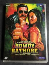Rowdy Rathore Movie DVD Akshay Kumar Sonakshi Sinha Bollywood DVD