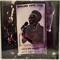 DARLENE LOVE LIVE! RHINO RECORDS 1985 ORIGINAL FACTORY SEALED VINYL LP