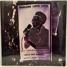 DARLENE LOVE LIVE! RHINO RECORDS 1985 ORIGINAL FACTORY SEALED VINYL LP