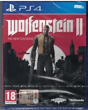 PS4 - WOLFENSTEIN II 2 - PAL NUOVO ITA