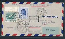 06461) KLM FF Amsterdam - Saigon 31.3.59, Brief ab Luxemburg