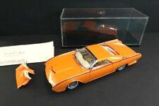 DANBURY MINT Ford Thunderbird Custom 1962 Orange 1:24 Mint Condition (86)