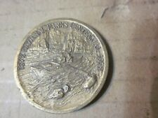 "U.S. National Parks Centennial Bronze Medal ""Grand Canyon National Park 1919"""