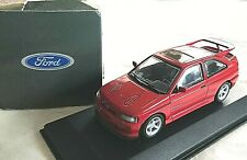 """Minichamps Ford Escort Cosworth RS """"Cossie"""" rot - 1:43 - OVP Dealer Box selten"""