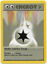 Double Colorless Energy 124/130 - Base Set 2 - Uncommon - Englisch - Near Mint