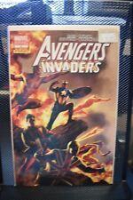Avengers Invaders #8 Steve Epting Variant Marvel Dynamite 2009 Alex Ross 9.4