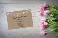 10 Personalised handmade Change of Address New Home House Moving Cards AC82