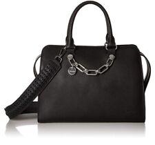 Calvin Klein Lincoln Daytona Leather Satchel/ NWT/Black/$298