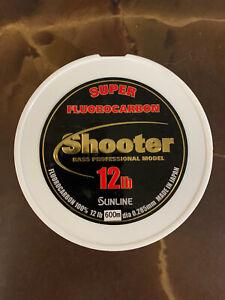 Sunline Shooter 12 Lb Fluorocarbon Fishing Line-600 M (660 Yards)