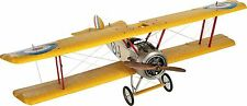 """WWI Airplane Large 59"""" Wood Silk Model Sopwith Camel Ace Biplane Fighter Plane"""