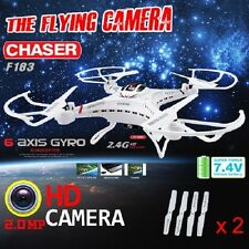 CHASER DFD F183C RC Quadcopter Video Drone with 720p HD Camera LCD RTF Mode 2