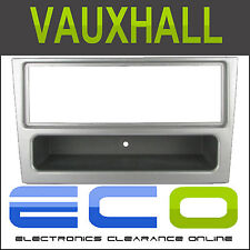 FP-19-00S Vauxhall Vectra 2002 - 2004 Car Stereo Single DIN Facia Panel Silver