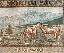 MONGOLIE billet neuf de 100 TUGRIK Pick65 2008  CHEVAUX  BATAAR GENGIS KHAN