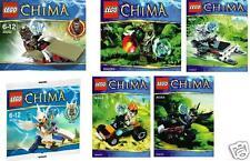 6x Lego Chima Exklusiv-Sets komplett und Neu 30250 30251 30252 30253 30254 30255