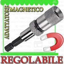 Adattatore MAGNETICO [REGOLABILE] per INSERTI Viti Cartongesso By AKIFIX