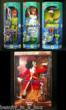 Flying Peter Pan Tinkerbell Wendy Captain Hook Male Villains Euro Disney Doll