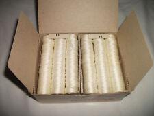 144 Nylon Sewing Bobbins-HB-69 White