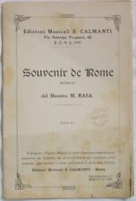 29 RASA SOUVENIR DE ROME ROMA SPARTITI MUSICA ORCHESTRA