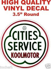 Vintage Style Cities Service Koolmotor Services Oil Gasoline - The Best!