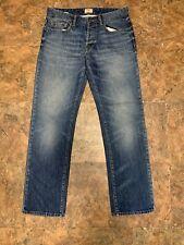 Hugo Boss  Boss Orange  Regular Fit  Denim Jeans  Blue  Men's  33 X 32